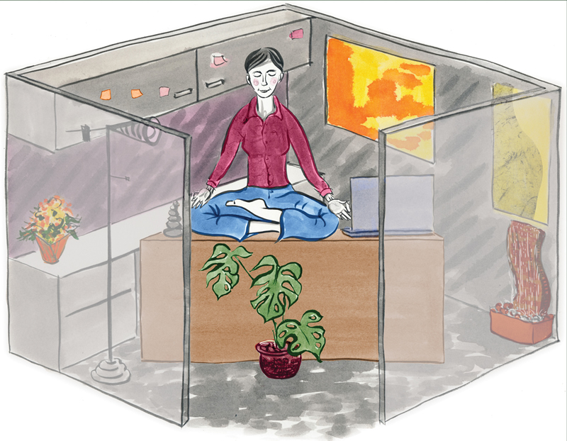 """Office Harmony: Fix Your Workplace Feng Shui"" for Seattle Times"